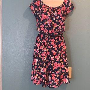 Xl LC Lauren Conrad belted floral dress